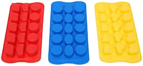 Silicone Chocolate Making Mould Cartoon collection ,set of 3, Cars, Spiderman ,Barbie ,15 Slots each , Food Grade