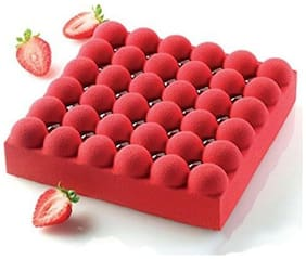 Siliko Bubble Designer Professional High Quality Cake Mould - Bubble Model 17.78 cm (7 inch) x 17.78 cm (7 inch)