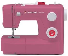 Singer Simple 3223 85-Watt Automatic Sewing Machine (Red)
