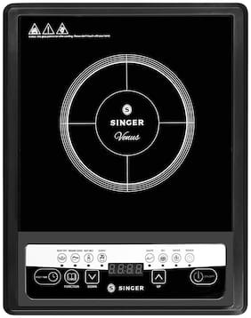 Singer VENUS 1400WATTS 1400 W Induction Cooktop ( Black , Touch Panel Control)