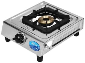 Surya. 1 Burner Regular Silver Gas Stove