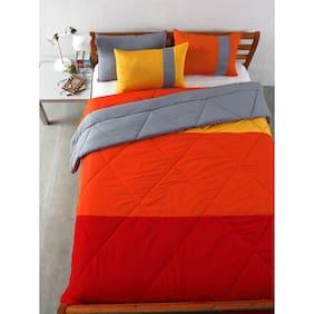 Stoa Paris Single Red And Grey Comforter