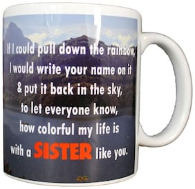 Sister Quotes Coffee Ceramic Mug