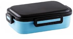 SKY 2 Container Stainless Steel Lunch Box Set of 1 ( Blue ,  800 ml )