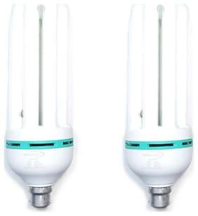 SKYBRIGHT 65 Watt B22 CFL Bulb - White , Pack of 2