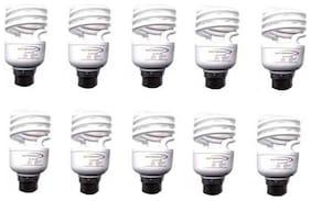 SKYBRIGHT 15 watt B22 CFL Bulb - White , Pack of 10