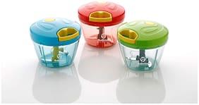 SKYFLY Plastic & Stainless steel Fruit tool & Vegetable tool Multi ( Set of 3 )