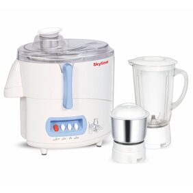 Skyline Vtl-4000 550 W 2 Jars Centrifugal Juicer ( White )