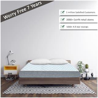 SLEEP SPA by COIRFIT 5-5.9 inch Foam Double Size Mattress