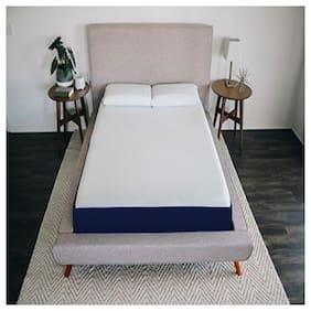 Sleep Spa La Swirl Cooling Gel Convoluted 8 inch Single Memory Foam Mattress