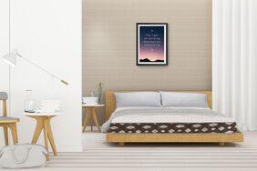 Sleep Spa Organic Natural 5 Inch Single Latex Foam Mattress
