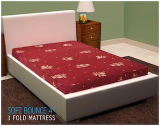 SLEEP SPA by COIRFIT 4 inch Foam Mattress