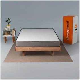 Sleepyhead Flip Dual Sided High Density Foam Mattress with Firm & Soft Sides;78x48x5 inch(Double Size)