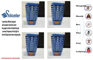 Buy Sliceter (4PCS) Electronic Insect & Mosquito Killer with