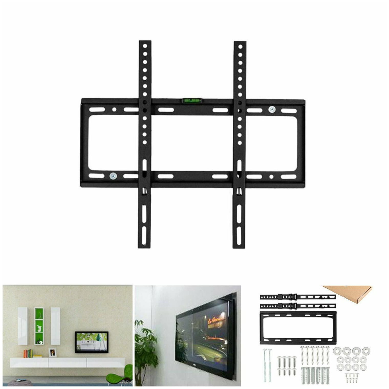 "Tilt Wall Mount TV Bracket LCD LED Plasma Flat 26 27 32 37 40 42 46 47 50 55/"""