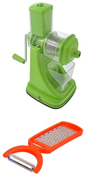 SM Kitchen Combo Super Deluxe Fruit Juicer Assorted Color With Free 2 In 1 Peeler Cum Grater