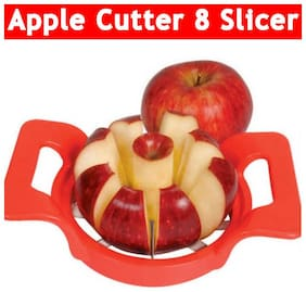 Apple Cutter, Corer and Slicer with Stainless Steel Blades, 8 Slices