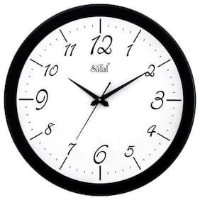 Safal Mdf with melamine Analog Wall clock ( Set of 1 )