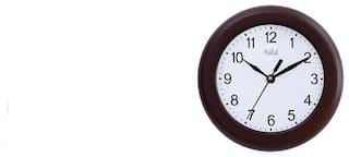 Safal Brown Wall Clock