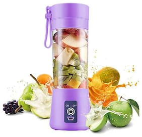 SMART BRAND USB Peronal Portable Blender Bottle Juicer, Personal Size Rechargeable Juice Blender And Mixer, 380ml