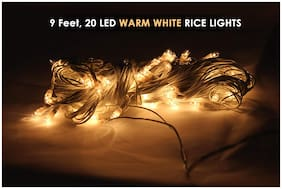 Fairy String Decorative Rice Light 3 Meter ( Warm White )
