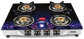 Pigeon 4 Burners Gas Stove - Assorted