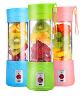 SMART Portable Blender,Personal Size Electric Rechargeable USB Juicer Cup,Fruit Mixer Machine for Home and Travel