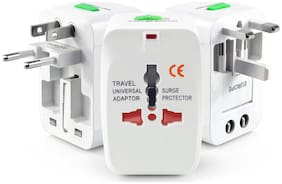 Smart Pro All in One World Travel Adapter for AU/EU/UK/US ( 1 pc.)
