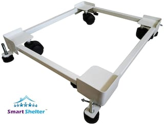 "Smart Shelter Alloy Multi Purpose Trolley "" Set of 1 """