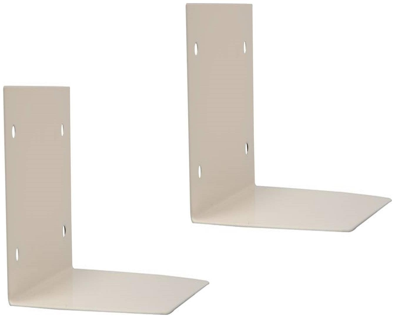 Smart Shelter Super strong Invisible Book Wall Mount shelf / Conceal Book Shelf / Floating Book Shelf  Set of 2 shelves