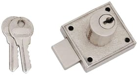 SmartShophar Zinc Multipurpose Lock Jackpott 35 mm Gold Silver
