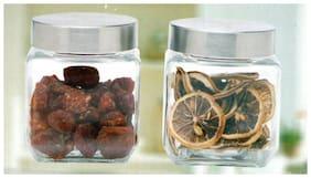 SMART SKILL Kitchen Home Fashion Exquisite Glassware Container - 500 ml