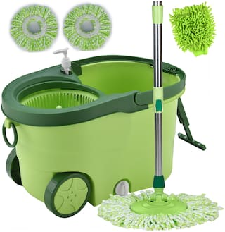 Buy Smile Mom Spin Mopper Floor Cleaner with Bucket Set
