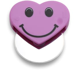 Smile Mom Stainless Steel Pizza Cutter for Kitchen;Best Home Cutting Tool for Pastry;Cake;Sandwich;Bread (Purple)