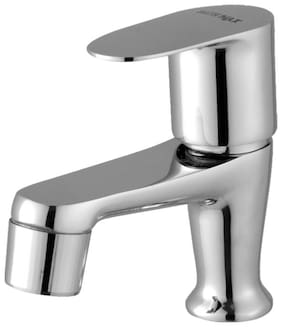 Smile Deck Mount Brass Basin and Sink Taps ( Knob Controlled )