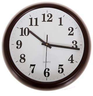 Smile2U Retailers Brown Wall clock