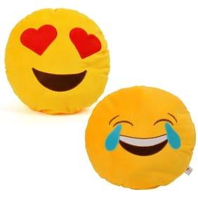 Cortina Smiley Pillow Set Of 2 -001