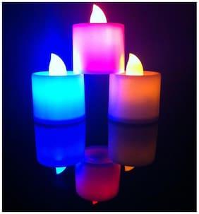 Lamp & Lighting smokeless candles-set of 10 (Multi)
