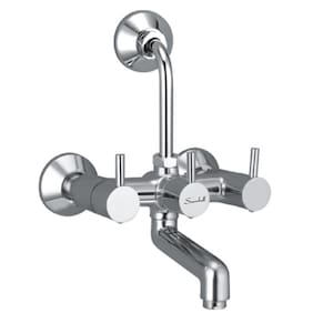Snowbell Wall Mount Brass Wall Mixers ( Handle Controlled )