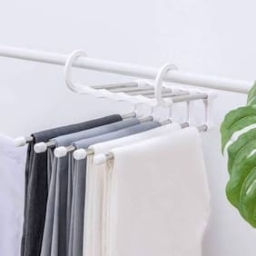Sell Net Retail Stainless steel White Hangers ( Set of 2 )