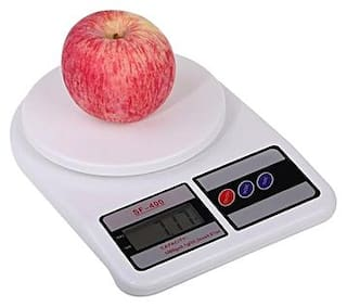 SNR Electronic Digital 10 kg Weight Scale Lcd Kitchen Weight Scale Machine Measure for measuring fruits,Spice,Food,Vegetable And More (Sf-400) Weighing Scale pack of 1