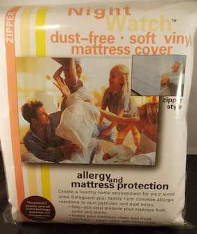 "SOFT VINYL MATTRESS COVER-TWIN / SINGLE 9"" MATTRESS HEIGHT-A TOP SELLING ITEM"