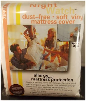 "SOFT VINYL PLASTIC MATTRESS COVER--TWIN / SINGLE 15"" HEIGHT-A NUMBER 1 CHOICE !!"