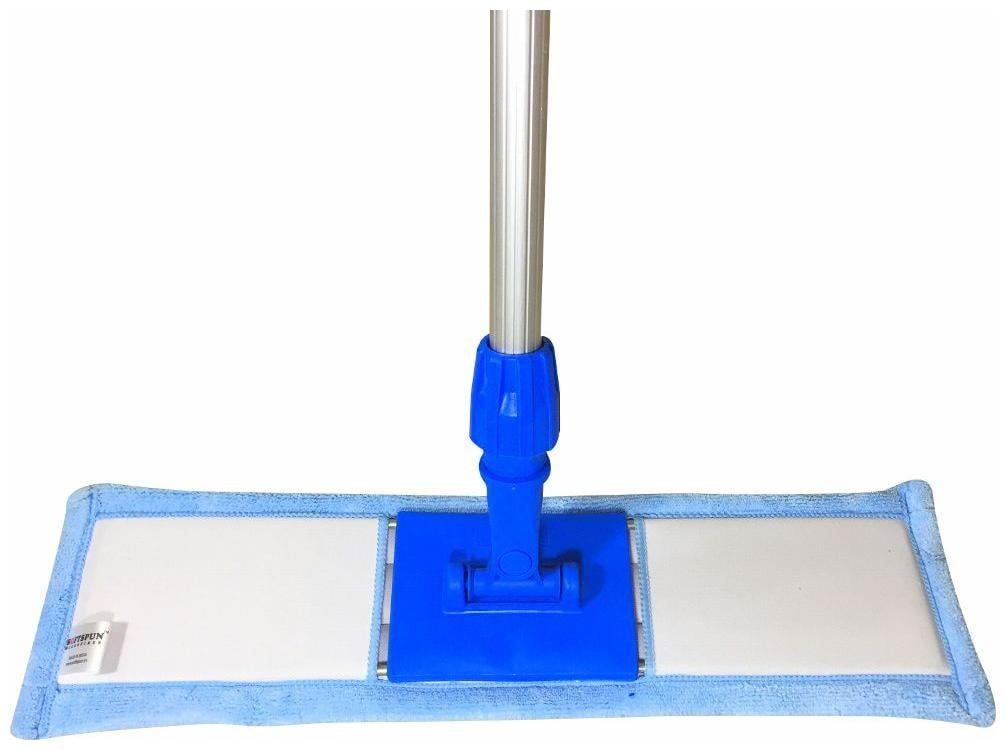 Softspun Microfiber Wet   Dry Cleaining Mop Refill   19   Sky Blue