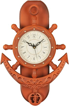DEGOSH Brown Wall clock