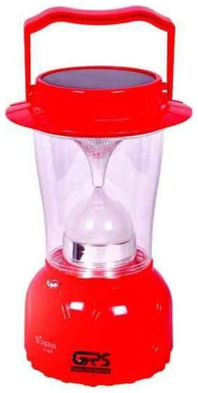 Solar And Rechargable Lantern With Night Lamp Emergency Light