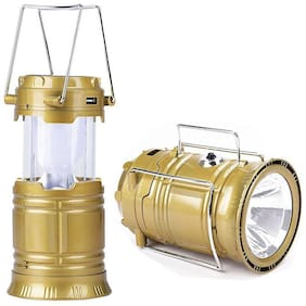 Solar Rechargeable 6LED Camping Lantern Light, UniqueNight Lantern Light