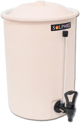 Solpure (Alkaline Natural) 10 ltr Water Purifyer with Bacteriostatic Technology