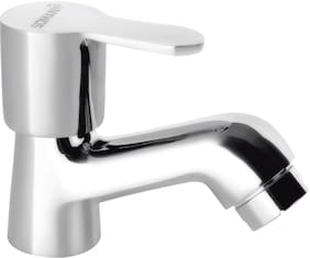 Somany Wall Mount Stainless steel Basin and Sink Taps ( Knob Controlled )