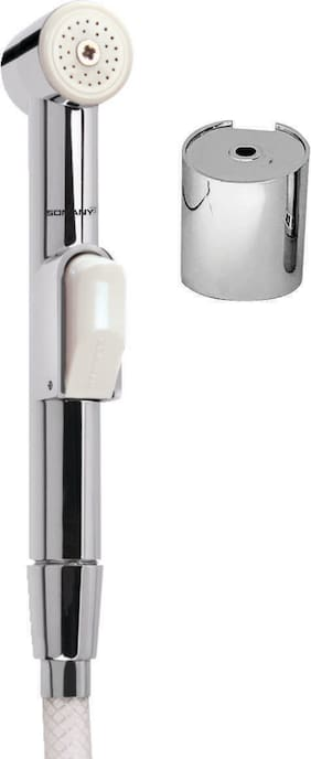 Somany Wall Mount Stainless steel Health Faucets ( Handle Controlled )